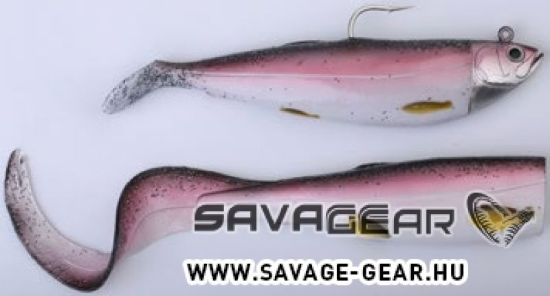 SET NALUCI - SAVAGE GEAR Cutbait Herring Kit 20cm 270g 72-Coalfish