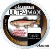 FIR MONOFIL - Okuma Ultramax 2oz Trout 11lbs 5.6kg 0.25mm Grey