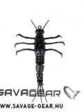 RACI, INSECTE - SAVAGE GEAR 3D TPE Mayfly Nymph 5cm 2.5g 1 buc 04-Black