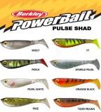 BERKLEY POWERBAIT PULSE SHAD 11CM ORANGE BLACK-VOBLER