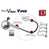 JIGHEAD  DRAGON V-POINT VIPER MARIME: 4/0-12,5G